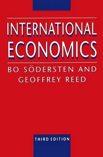 International Economics By Bo Sodersten