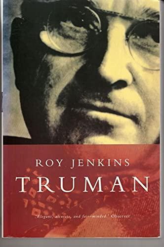 Truman By Roy Jenkins
