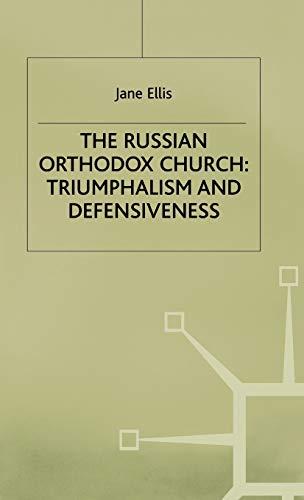 The Russian Orthodox Church By Jane Ellis