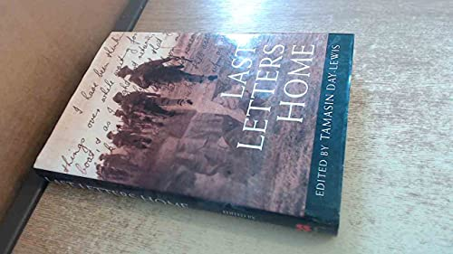 Last Letters Home By Tamasin Day-Lewis
