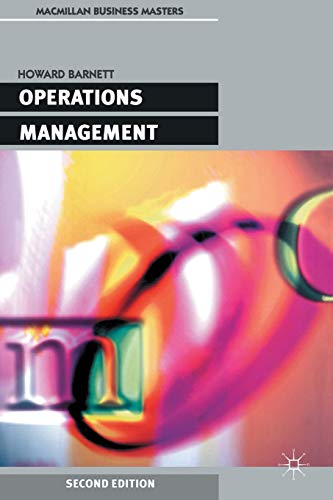 Operations Management By Howard Barnett