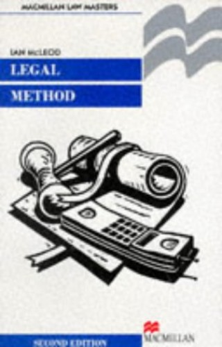 Legal Method By Ian McLeod