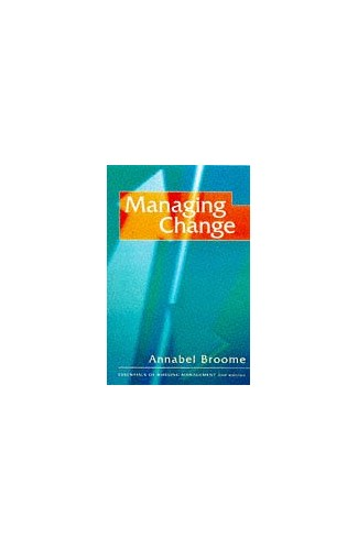 Managing Change By Annabel Broome