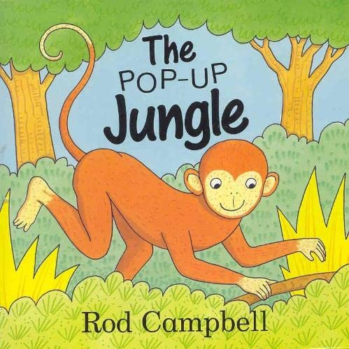 Pop-Up Jungle By Rod Campbell