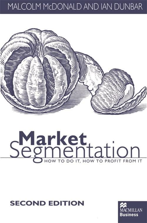 Market Segmentation By M. McDonald