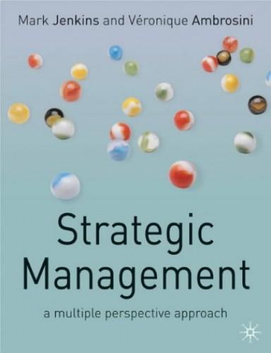 Strategic Management By Mark Jenkins