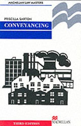 Conveyancing By Priscilla Sarton