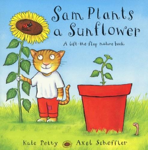 Sam Plants A Sunflower von Kate Petty