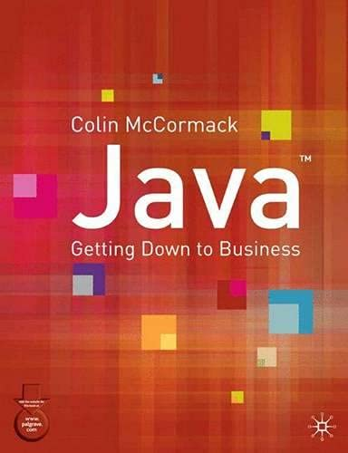 Java By Colin McCormack