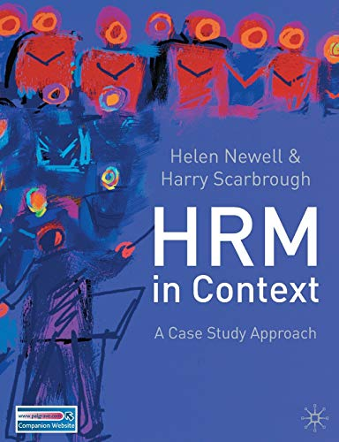 Human Resource Management in Context By Edited by Helen Newell