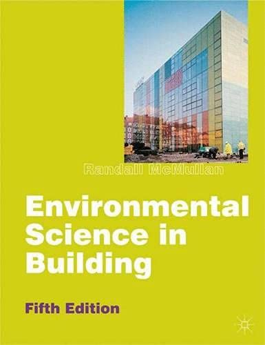 Environmental Science in Building (Building & Surveying Series) By Randall McMullan
