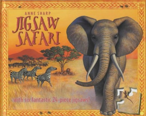Safari Jigsaw Book (BB) By Illustrated by Anne Sharp