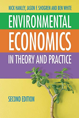 Environmental Economics By Nick Hanley
