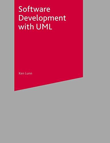 Software Development with UML By Ken Lunn