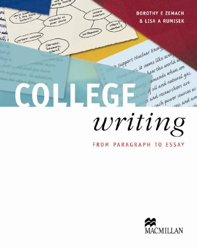 College Writing TB By Dorothy E. Zemach