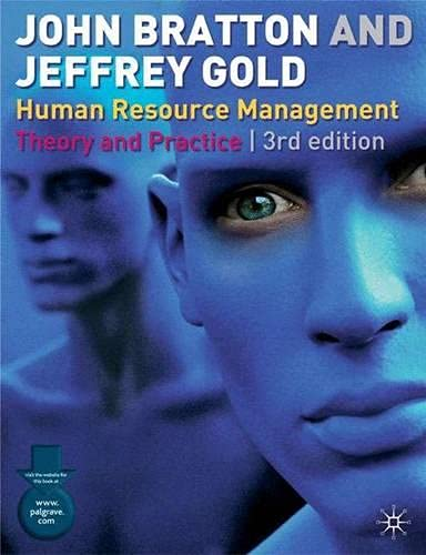 Human Resource Management By John Bratton