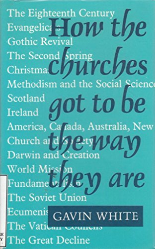 How the Churches Got to be the Way They are By Gavin White