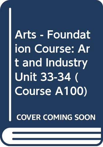 Arts - Foundation Course By Aaron Scharf