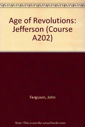 Age of Revolutions By John Ferguson
