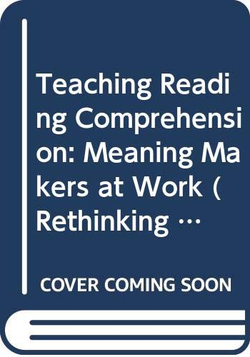 Teaching Reading Comprehension By Trevor H. Cairney