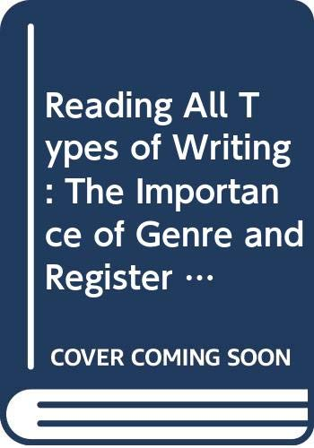 Reading All Types of Writing By Alison B. Littlefair