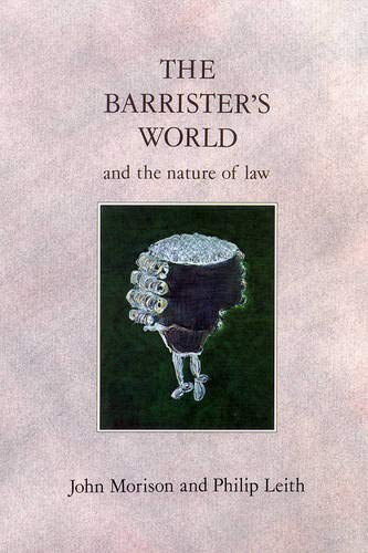 Barrister's World By John Morison