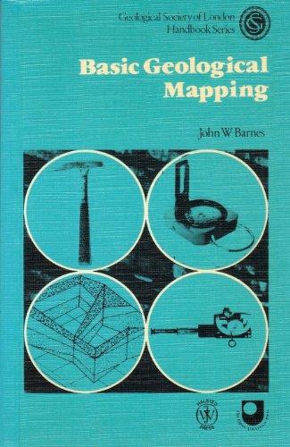 Basic Geological Mapping By John W. Barnes