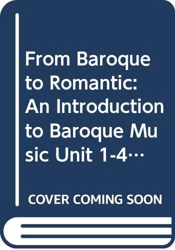 From Baroque to Romantic By L. Carolan