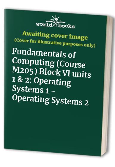 Computing, Fundamentals of
