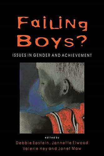 FAILING BOYS? By Debbie Epstein