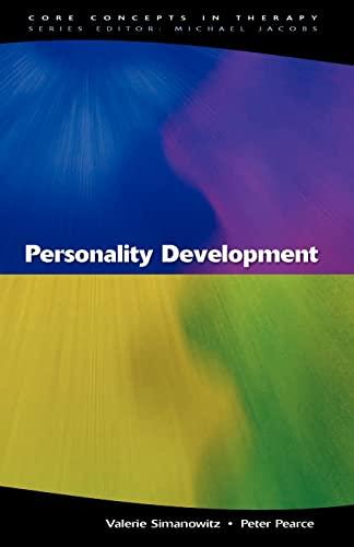 Personality Development By Valerie Simanowitz