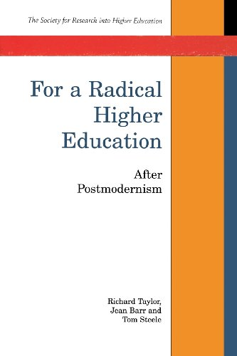For A Radical Higher Education By Professor Richard Taylor