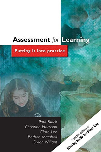 Assessment for Learning By Paul Black