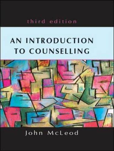 An Introduction to Counselling with Redemption card By John McLeod