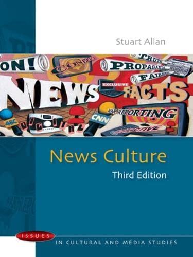 News Culture By Stuart Allan