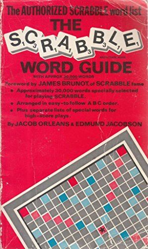 The Scrabble Word Guide By Jacob J. Orleans