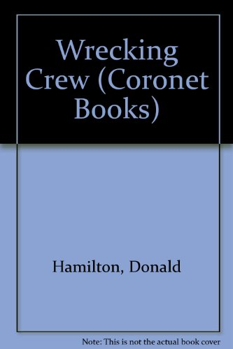 Wrecking Crew By Donald Hamilton