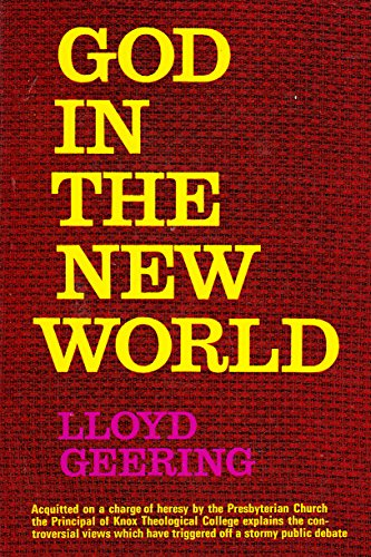 God in the New World By Lloyd Geering