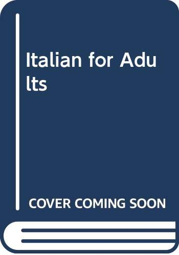 Italian for Adults By Charles Duff
