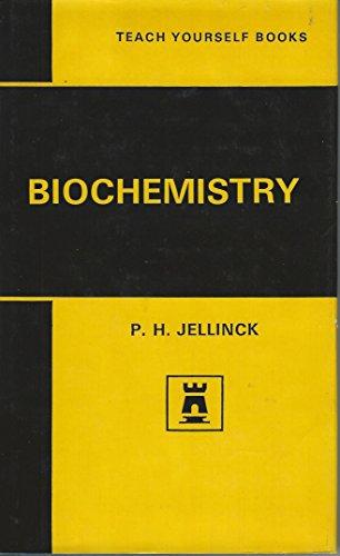 Biochemistry By P.H. Jellinck