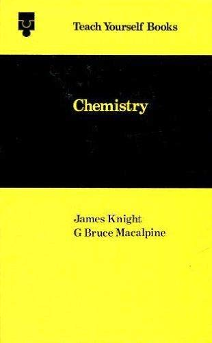 Chemistry (Teach Yourself) By James Knight