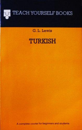 Turkish By Geoffrey Lewis