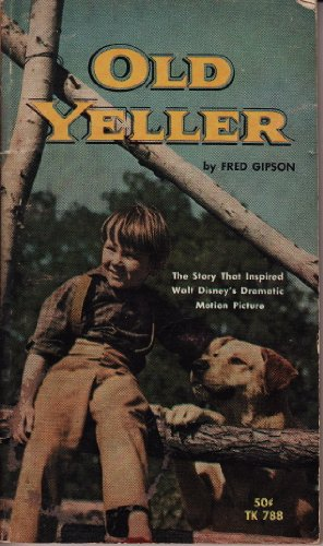 Old Yeller by Gipson, Fred Paperback Book The Cheap Fast Free Post