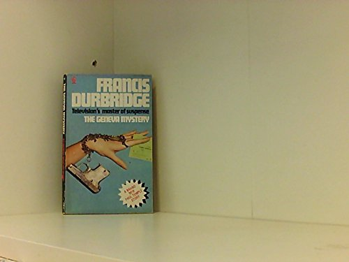 Geneva Mystery By Francis Durbridge