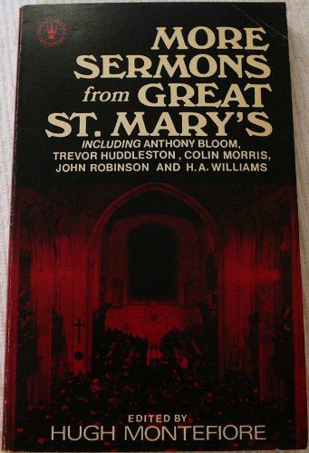 More Sermons from Great St.Mary's By Hugh Montefiore