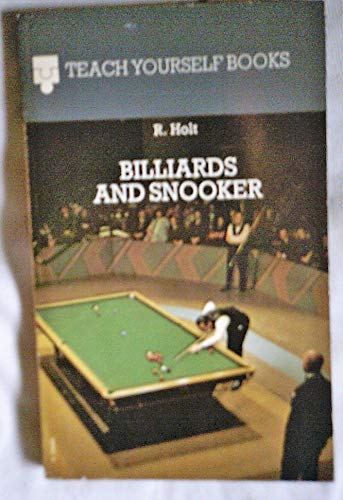 Billiards and Snooker By Richard Holt