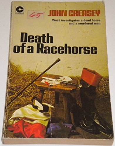 Death of a Racehorse By John Creasey
