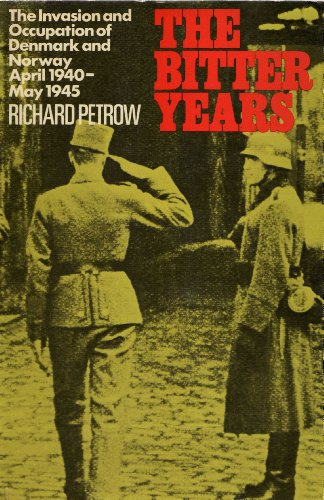 Bitter Years By Richard Petrow