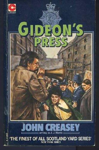 Gideon's Press By J.J. Marric