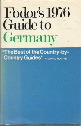 Germany By Edited by Eugene Fodor
